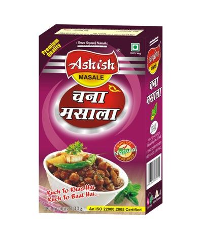 Ashish Chana Masala