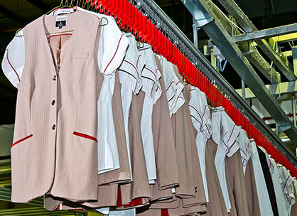 Hotel Uniform Laundry Services