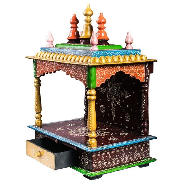 Design Wooden Temple