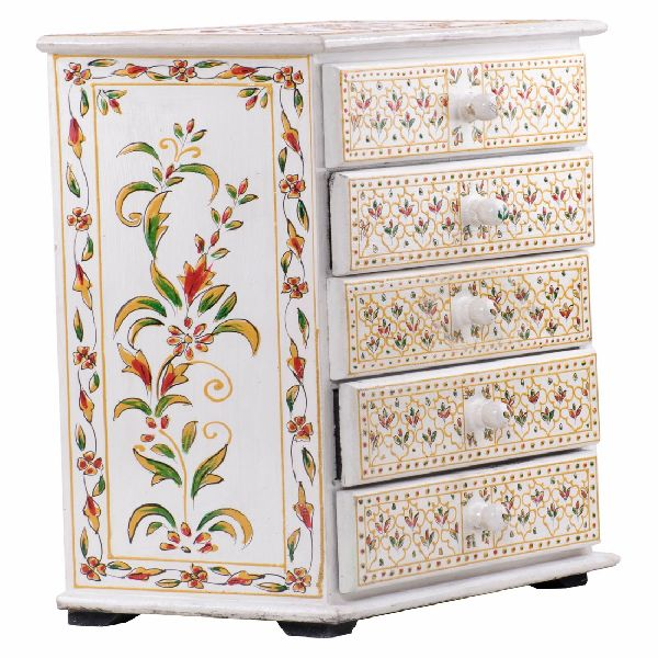 Hand Painted Chest Drawer Set