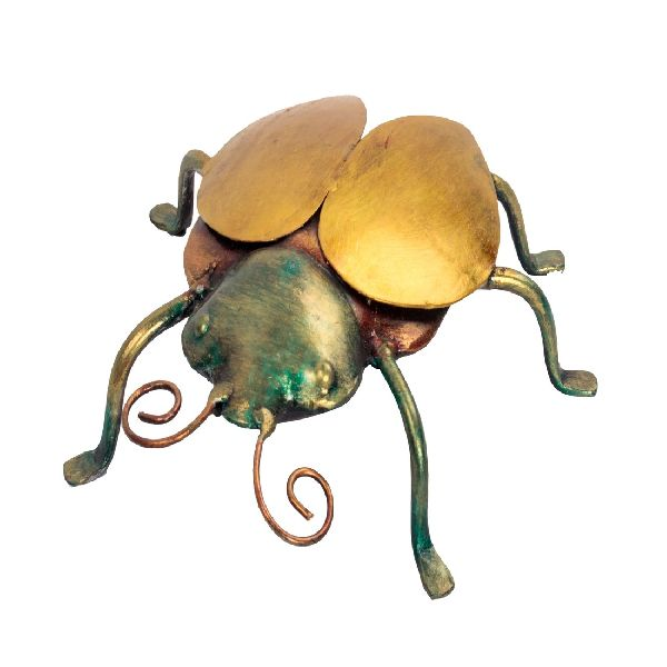 Iron Made Insect Statue For Decor