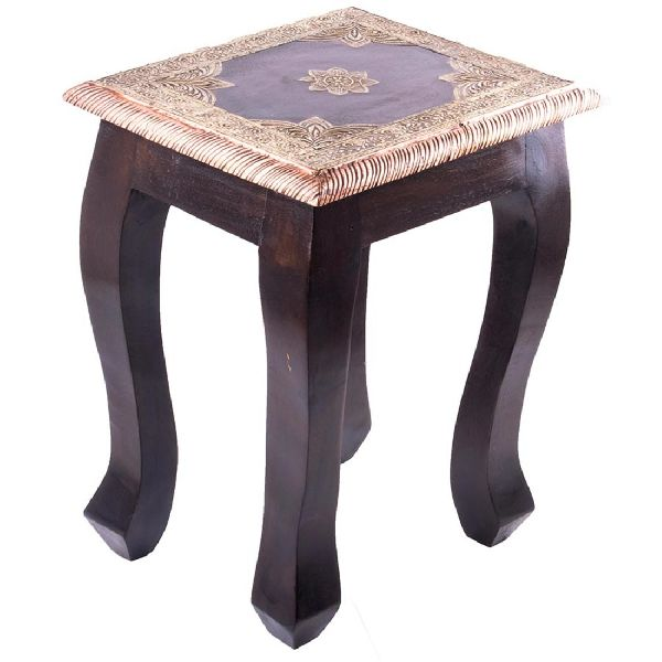 Square Shaped Wooden Table