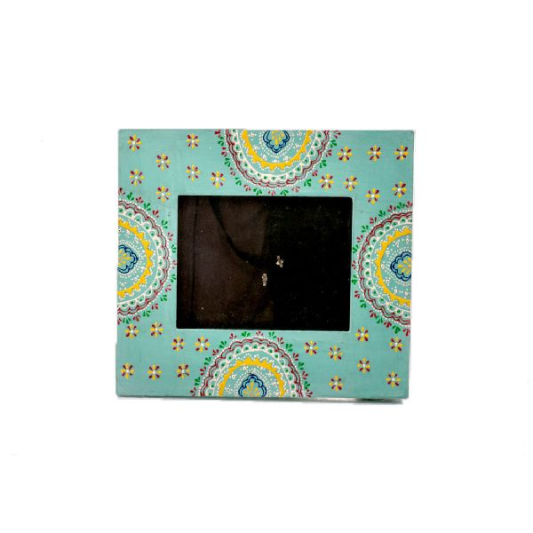 Traditionally Inspired Hand Painted Picture Frame