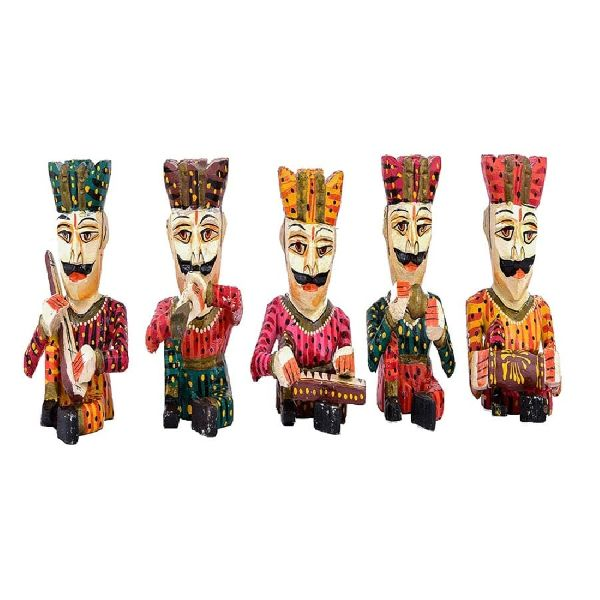 Wooden Musical Balwa Set