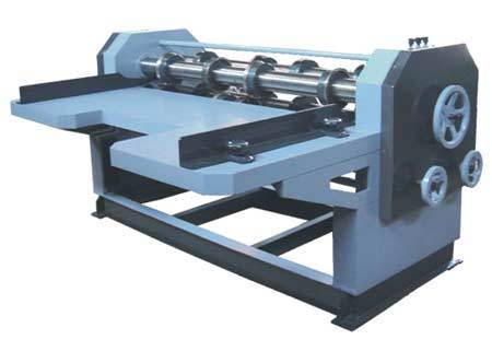 Four Bar Rotary Creasing Machine