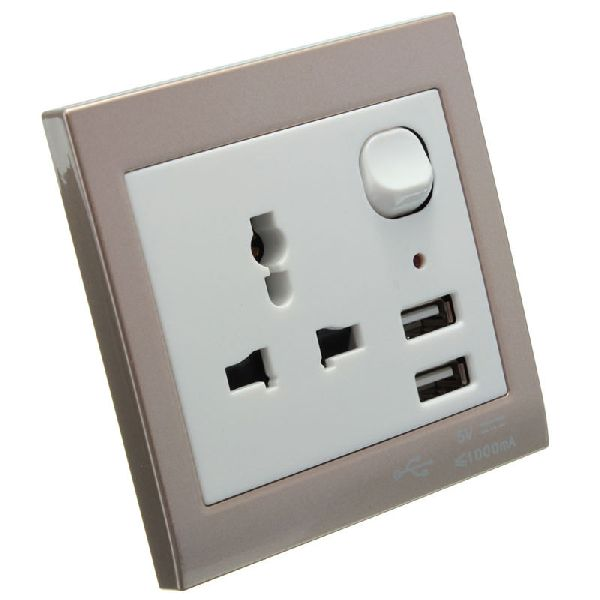 USB Socket Wall Face Plate 02