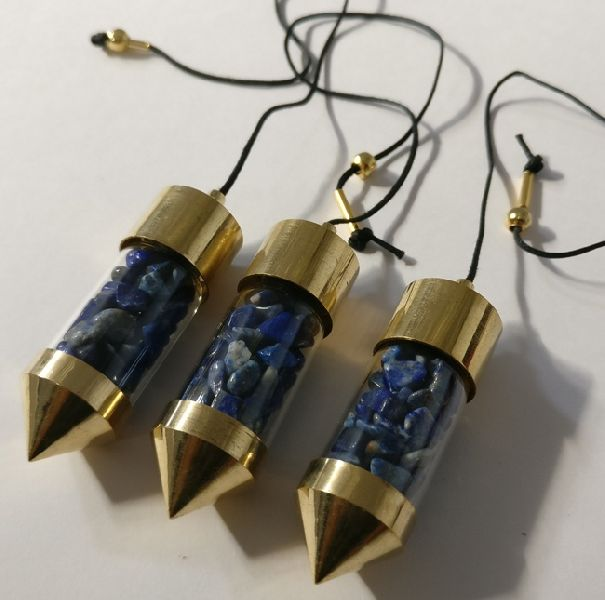 Lapis Lazuli Bottle Pendulums