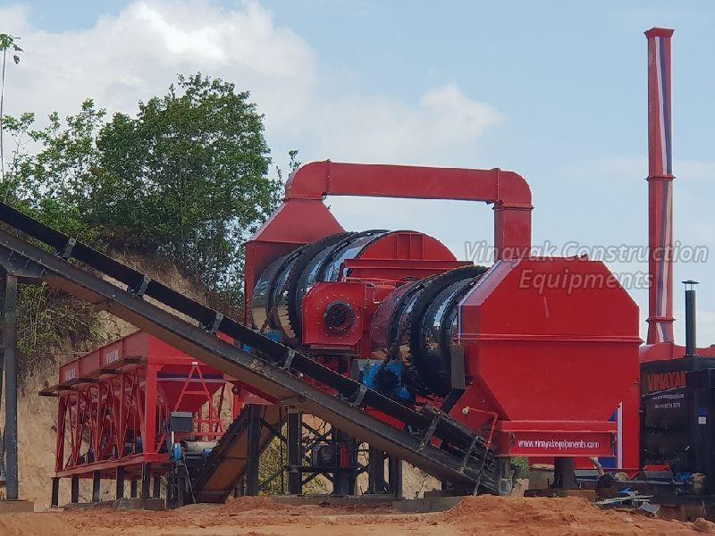 Double Drum Asphalt Plant