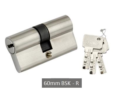 BSK 60mm Cylindrical Door Lock