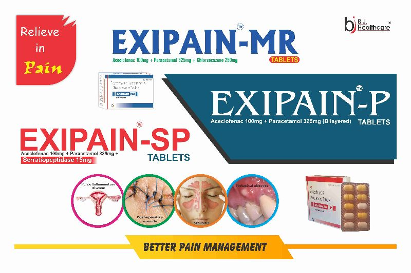 Exipain Tablets
