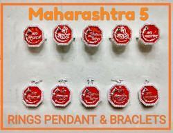 925 Silver Maharashtra 5 Pendant Rings