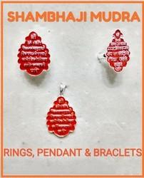 925 Silver Shambhaji Pendant