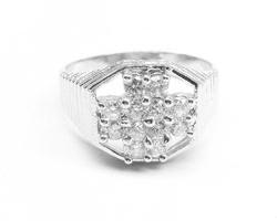 925 Sterling Silver Mens Finger Rings