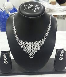 925 Sterling Silver Necklace Set 07