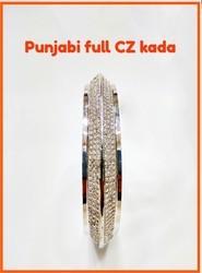 925 Sterling Silver Punjabi Kada