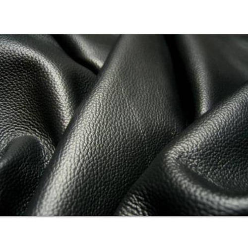 Black Leather Upholstery Fabric