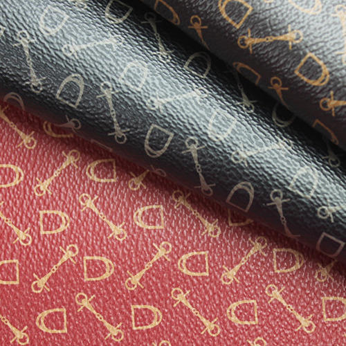 Printed Leather Fabric