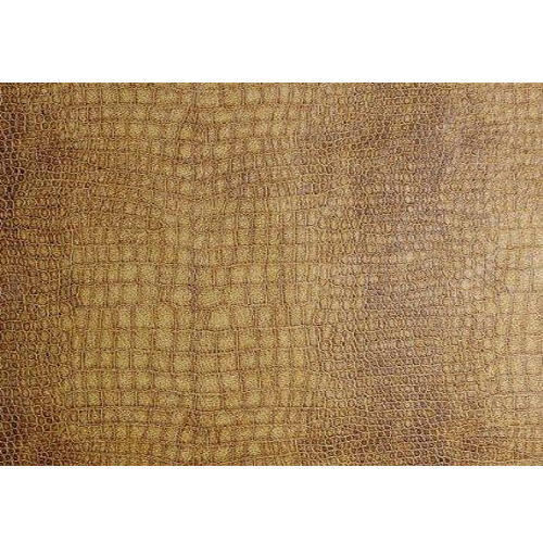 Yellow Leather Upholstery Fabric
