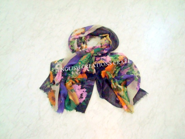 Wool Printed Scarves