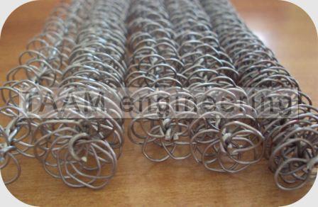 Wire Matrix Turbulator
