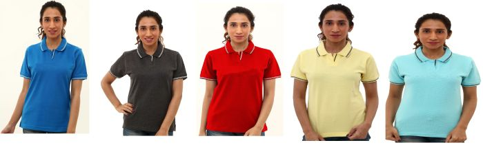 Ladies Polo T-Shirt 04