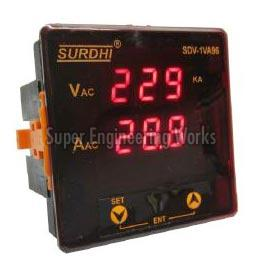 Digital VA (Volt-Amp) Meter-1 Phase