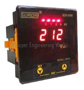 Digital Voltmeter (3 Phase)