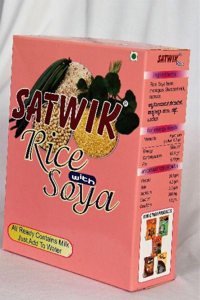 Satwik Rice Soya Breakfast Cereals 02