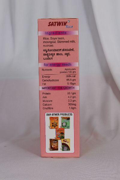 Satwik Rice Soya Breakfast Cereals 04