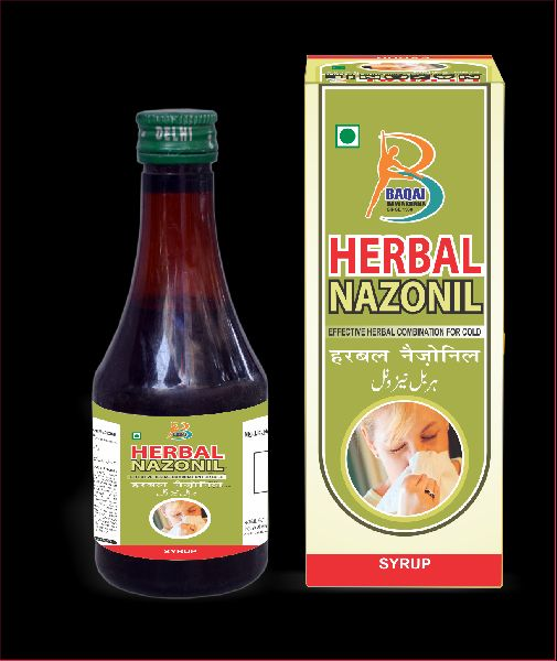 Baqai herbal nazonil syrup