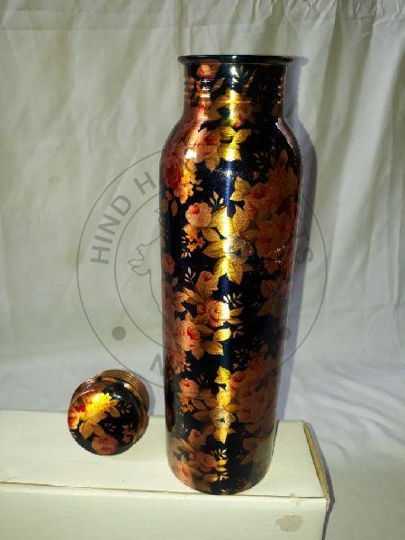 Copper Painted Water Bottle