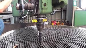Tube Sheet Drilling Machine