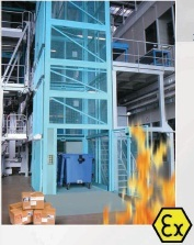 Flameproof Goods Cum Passenger Elevators