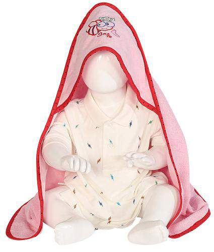 Baby Hooded Towel 01