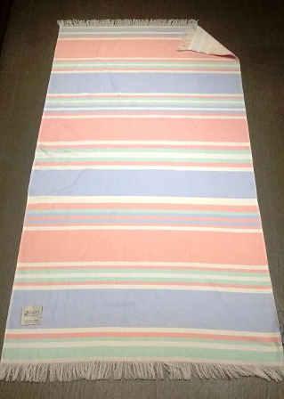 Piece Dyed Multi Stripe Fouta Towel