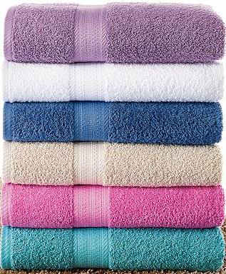 Solid Dyed Dobby Towel