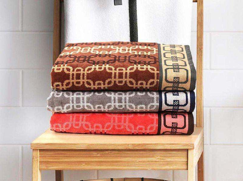 Twisty Jacquard Towel