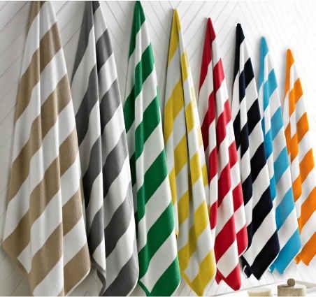 Yarn Dyed Dobby Stripe Towel