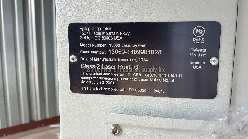 50 Watt Epilog Laser 03