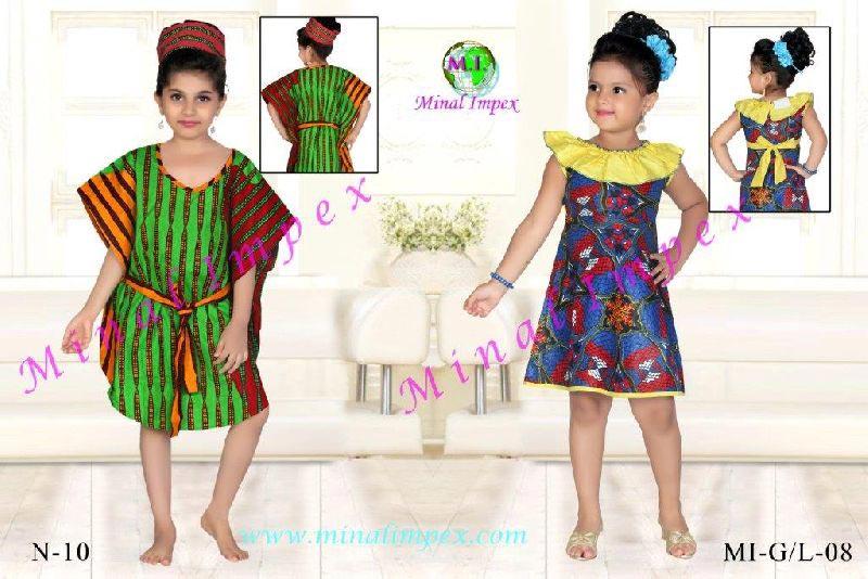 African Kids Wear (MI-G-L-08 12X18)