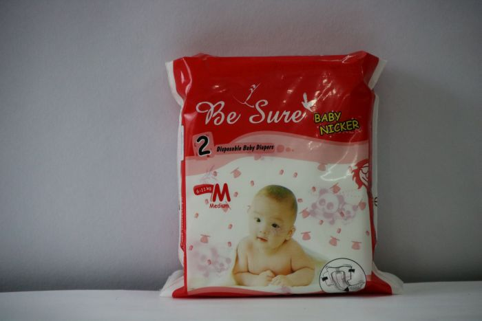 Be Sure Medium Baby Diaper 01