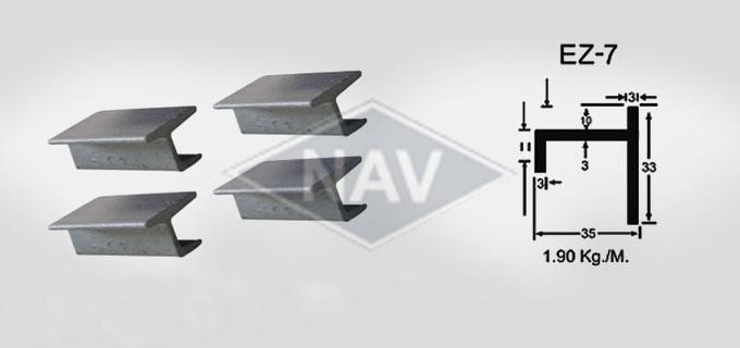 EZ-7 Steel Window Section