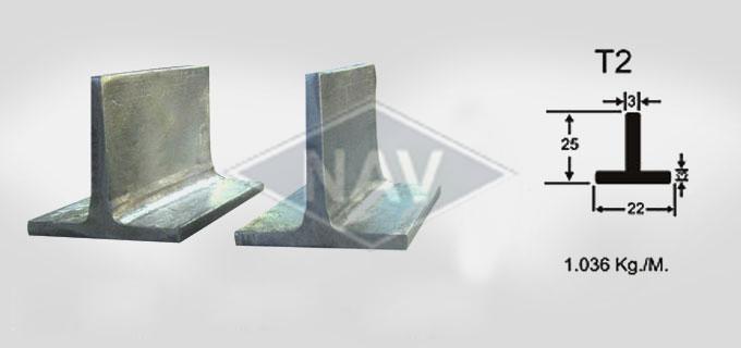 T2 Steel Window Section