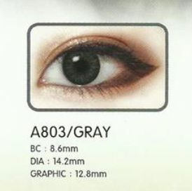 3 Tone Gray Contact Lenses 02
