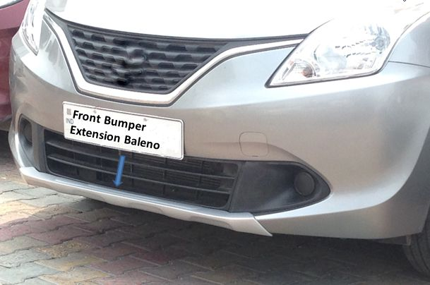 Baleno Front Diffuser