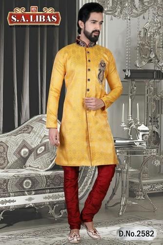 783fc9daab Mens Indo Western Sherwani Fabric Manufacturer Supplier in Mumbai India