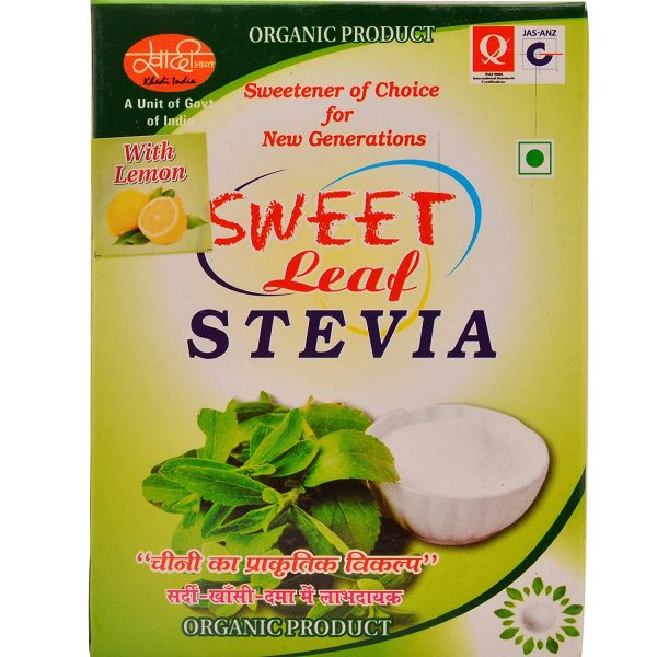 Khadi India Sweet Leaf Stevia 01