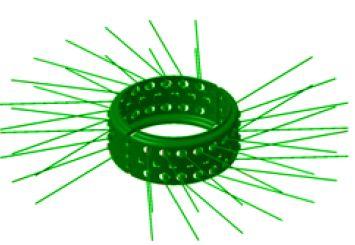 Wire Bristle Scratcher