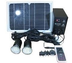 Solar Home Light System 01