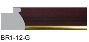 BR1-12-G Designer Moulding
